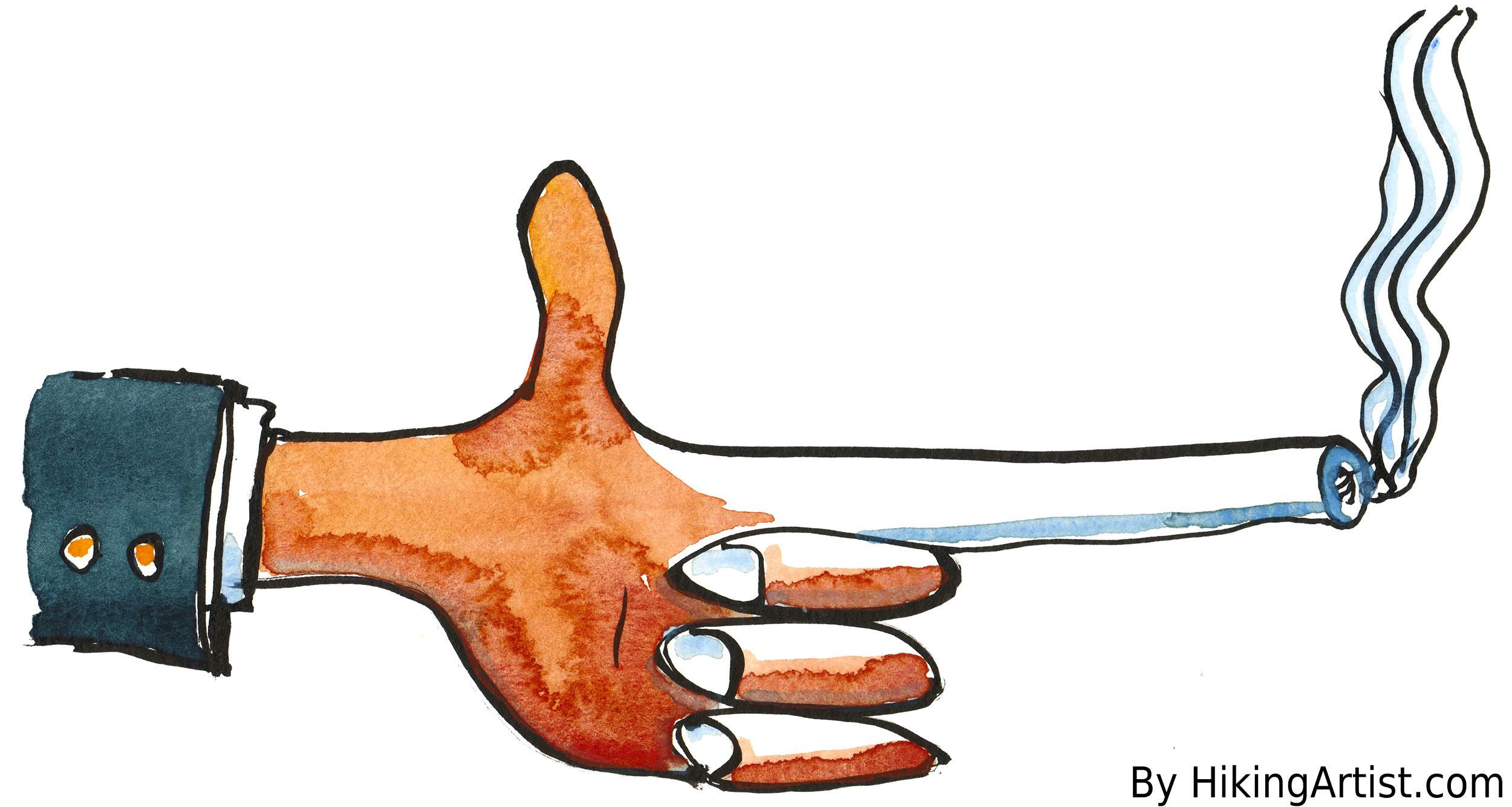 pistol hånd