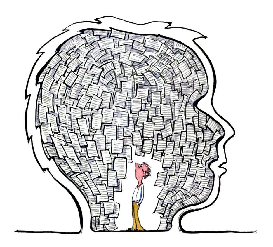 Skitse af hvordan tekst og tegning rent kognitivt hænger sammen